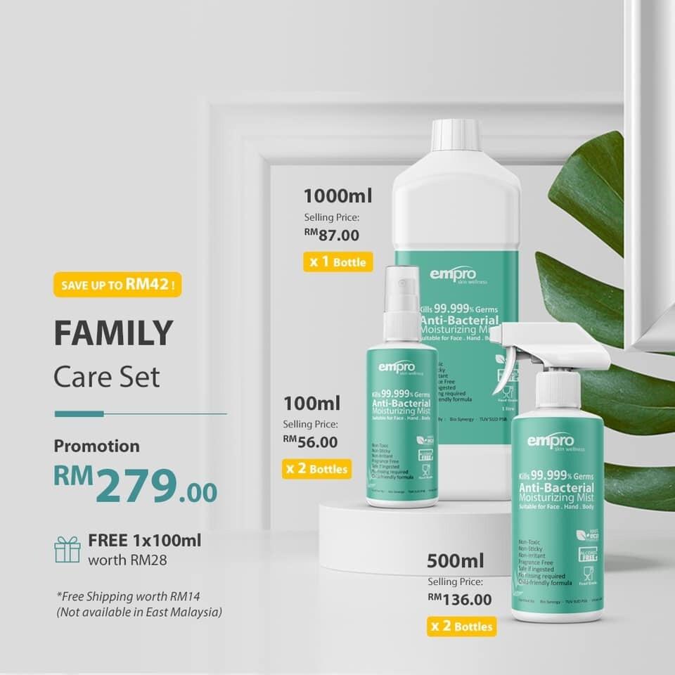Family Promotion Set