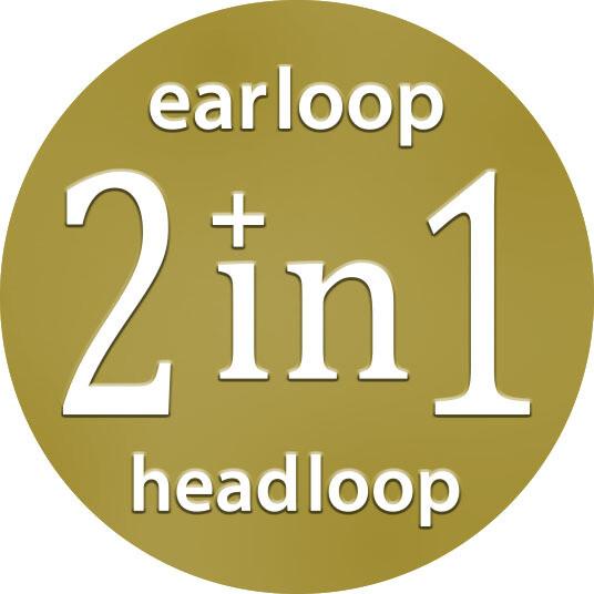2 IN 1- Earloop & Headloop (10 PLY)