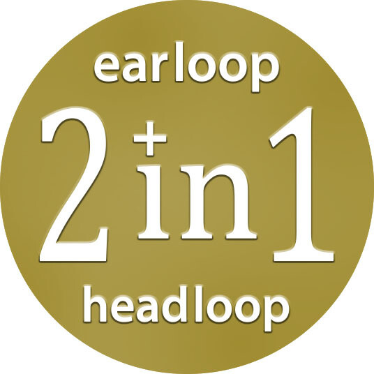 2 IN 1- Earloop & Headloop (50PCS)