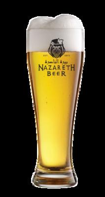 Nazareth Beer Glass 1/2 liter