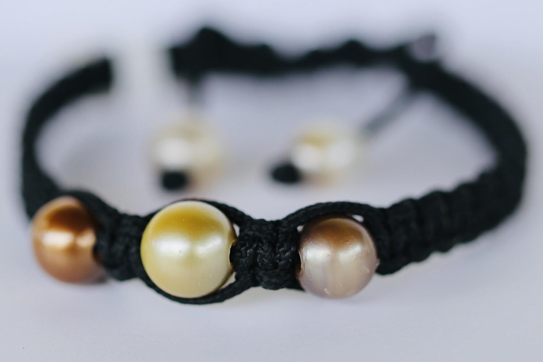 3 Pearls Bangles