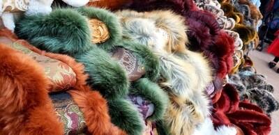 Furry Head Wraps