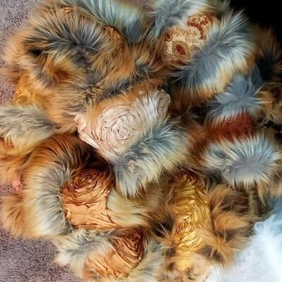 Contessa Furry Head Wraps
