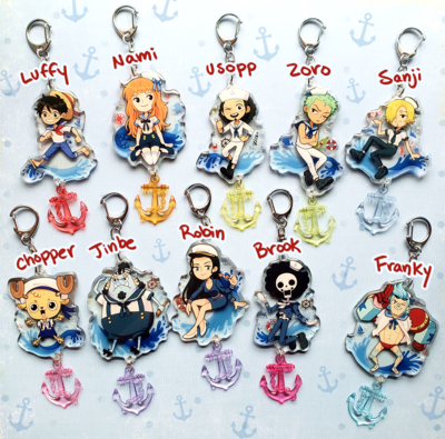 One Piece Sailor Charms