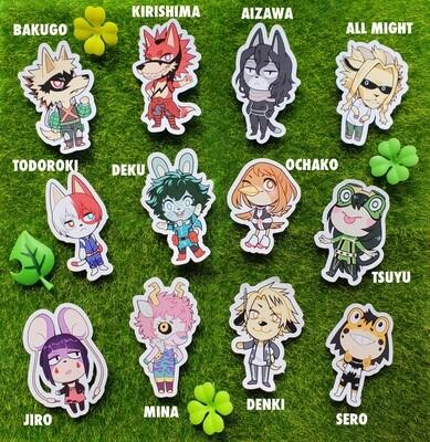 Animal Crossing Hero Stickers