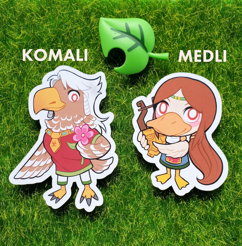 Animal Crossing Rito Stickers