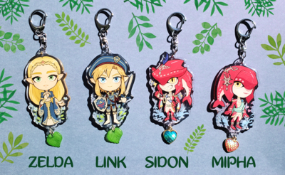 Zelda Breath of the Wild Charms