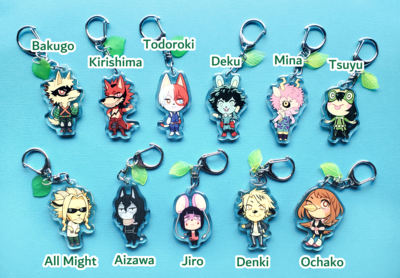 Hero Animal Crossing Charms (Discontinued)