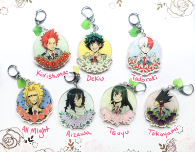 Hero Flower Charms (Discontinued)