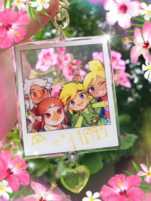 Zelda Wind Waker Photo Charm
