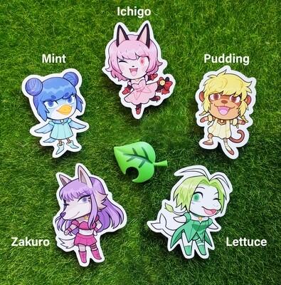 Animal Crossing TMM Stickers