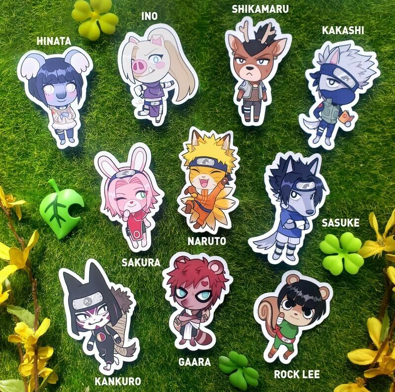 Animal Crossing- Ninja Stickers