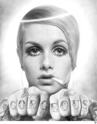 Drop Dead Gorgeous (BW) by JJ Adams