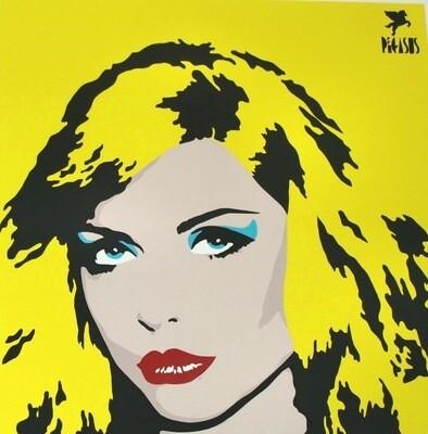 Blondie Pop Art by Pegasus