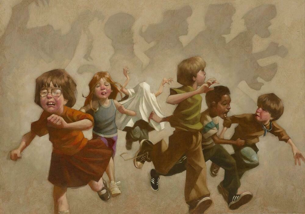 Pesky Kids! by Craig Davison