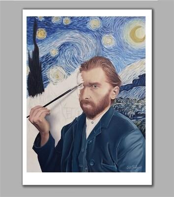 Van Gogh Self Portrait by Peter Perlegas