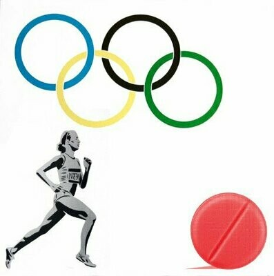 New Logo for the Olympic Doping Team by Pure Evil