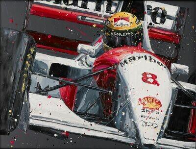 Senna McLaren by Paul Oz