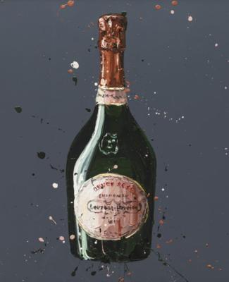 Laurent Perrier Rose by Paul Oz