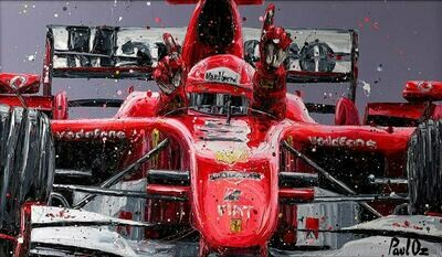 Schumi Last Win by Paul Oz