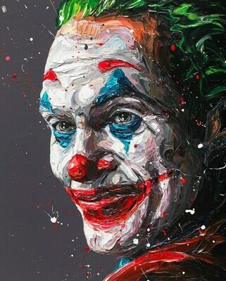 Arthur (Joker) by Paul Oz