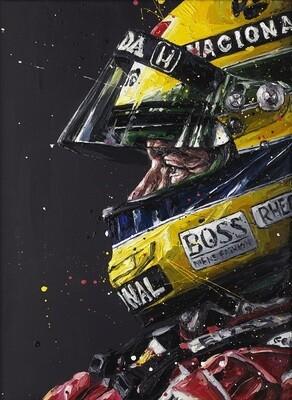 Designed to Win (Senna) by Paul Oz