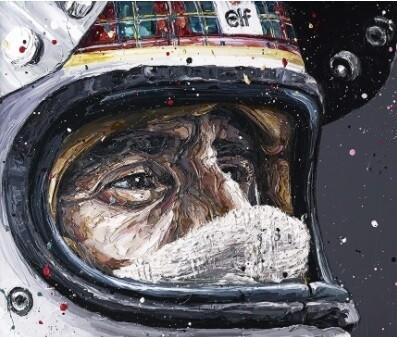 Sir Jackie Stewart by Paul Oz