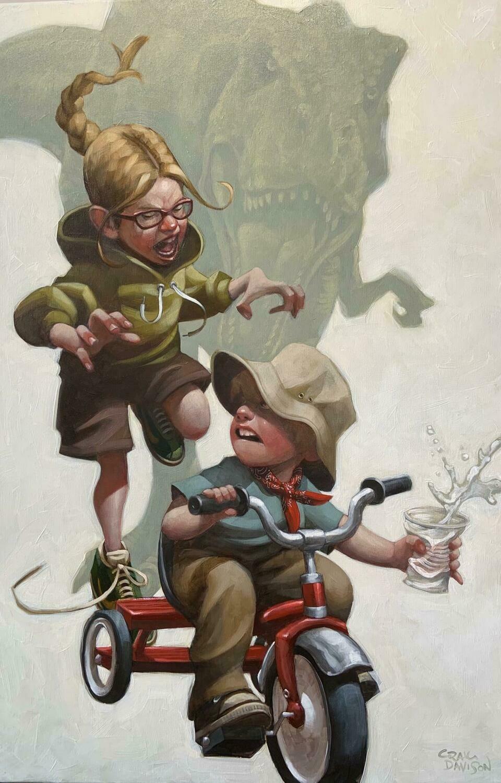 Keep Absolutely Still...by Craig Davison
