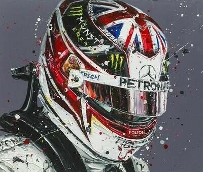 Lewis Hamilton 19 by Paul Oz