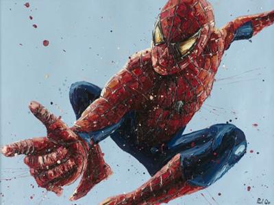 Spiderman (2) by Paul Oz