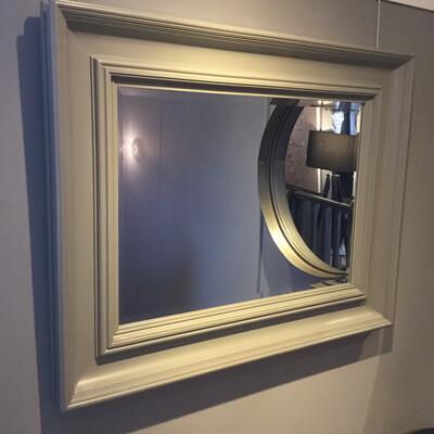 Contemporary Grey Mirror