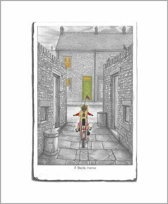 A Backa Home Sketch by Leigh Lambert