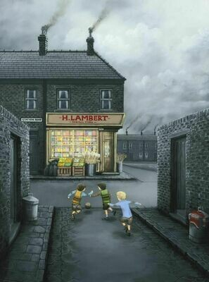 Mind That Window by Leigh Lambert