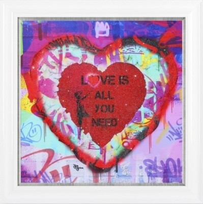 Pop Art - Banksy Love