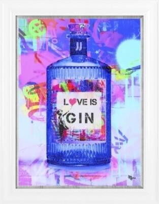 Pop Art - Love is Gin