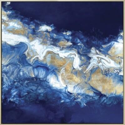 Blue Velvet Abstract