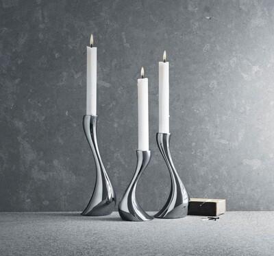 Georg Jensen Cobra Candlesticks (Set 3)
