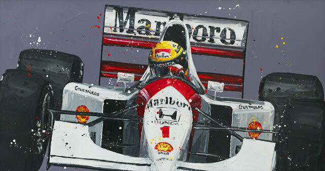 Senna Monaco 92 by Paul Oz