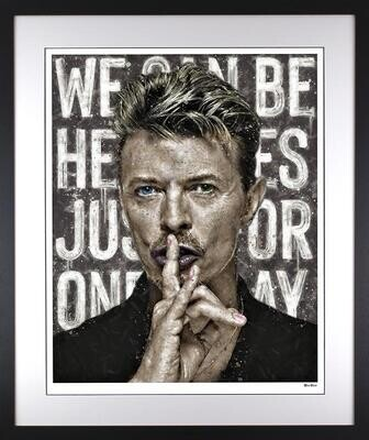 We Can Be Heroes (Bowie) by Monica Vincent