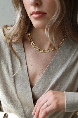 Tutti & Co Muse Necklace - Gold