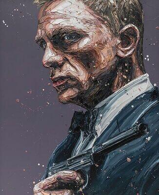 Daniel Craig 007 by Paul Oz
