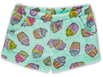 Girls' Fleece Cupcake Lounge Shorts