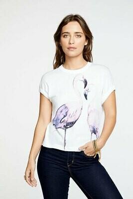 Flamingo Print Tee