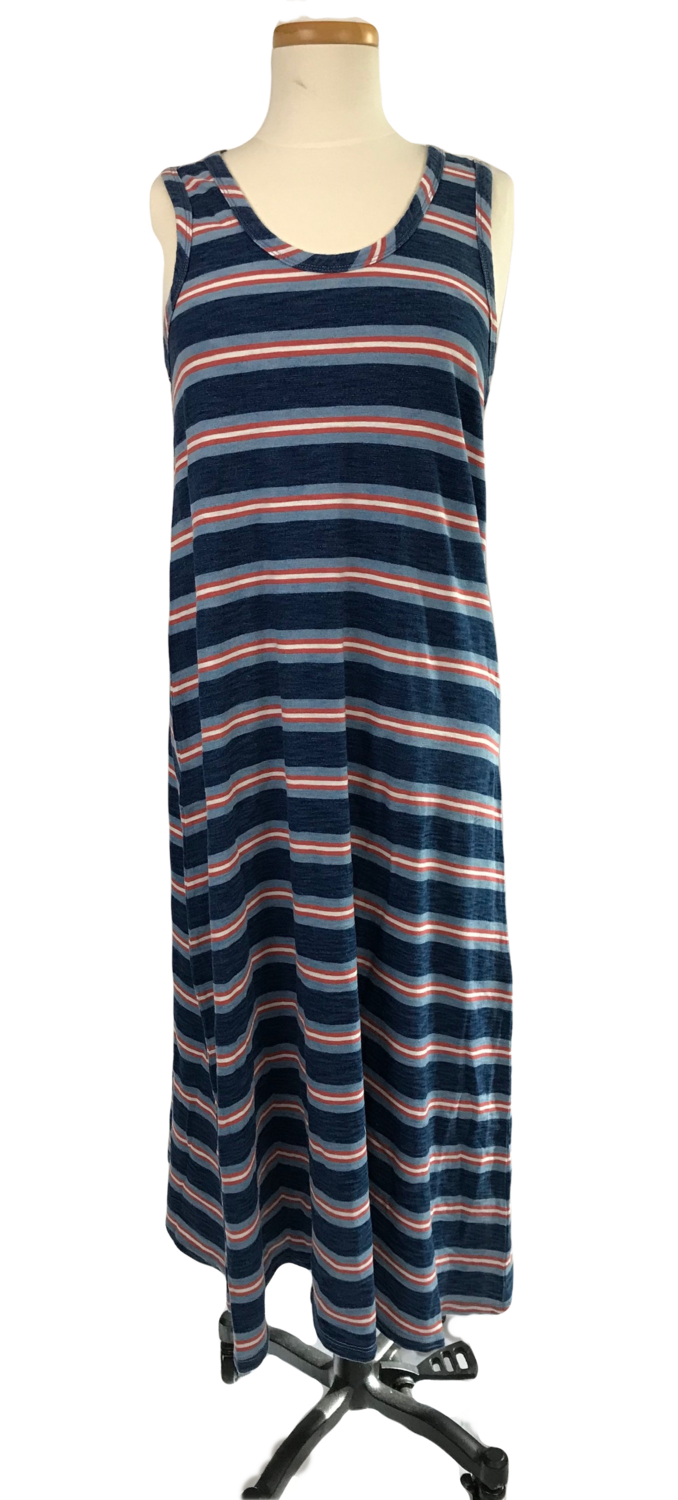 Coastal Stripe Long Dress
