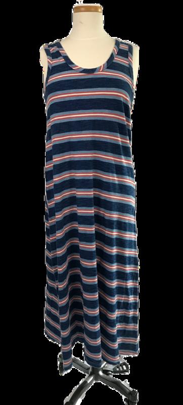 Coastal Stripe Long Dress