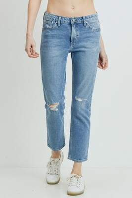 Vintage Distressed Boyfriend Jean
