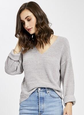 Tucker V-neck Sweater