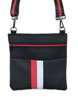 Peyton Crossbody Bag Red/White/Black