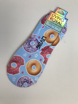 Donut Liner Socks