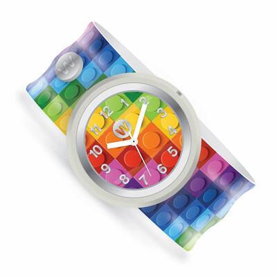 Slap Watch - Rainbow Building Brick